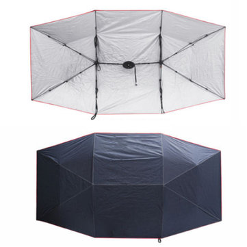 Extra Large UV Oxford Cloth for Car Sun Shelter Umbrella Tent Roof Cover 4.5* 2.3M