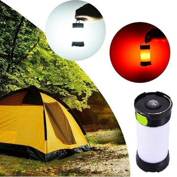 5W Portable LED USB Rechargeable Dimmable Camping Light Lantern IPX4 Waterproof Hiking Emergency
