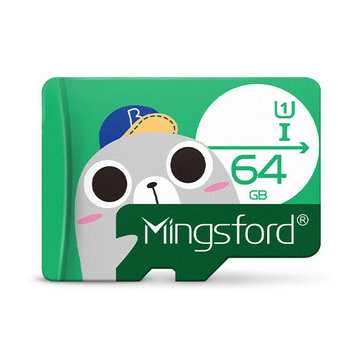 Mingsford Seal Edition 64GB U1 TF Memory Card
