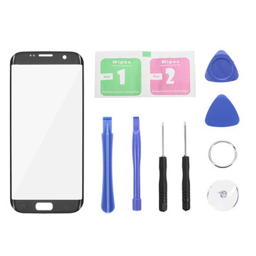 Outer Glass Touch Screen Replacement + Tools for Samsung Galaxy S7 Edge