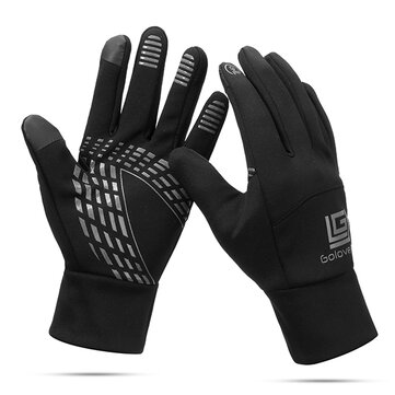 Men Women Warm Waterproof Cycling Sport Gloves Touch-screen Full Finger Ski Mittens