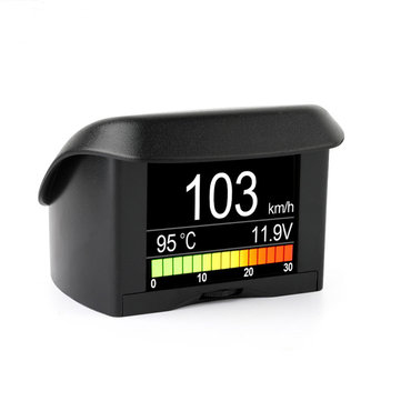 ANCEL A202 OBD Driving Computer Speedometer Digital Display Car Coolant Temperature Gauge