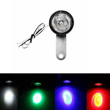 12V LED Flashlight Super Bright Warning Lights For Motorcycle Scooter Car