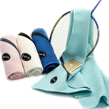 Honana WX-TT1 Pocket Sport Towel Woman Creative Summer Towel Absorbent Zipper Microfiber Sports Towels