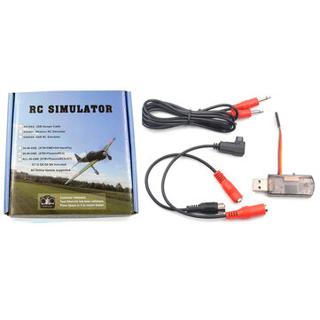22 In 1 2.4G Phoenix 5.0 Wireless Flight Simulator Compatible JR/ FUTABA/ FS/ KDS/ Walkera