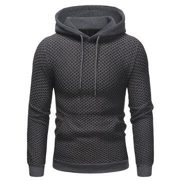 Casual Pullover Stitching Sweatshirt for Men