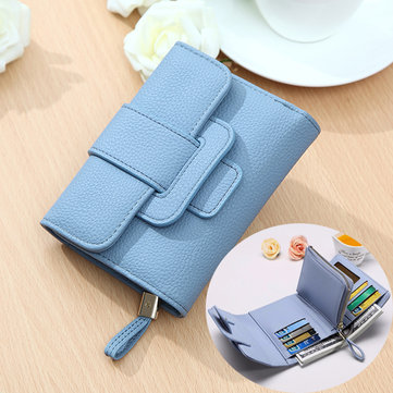 Women Hasp Short Wallet Girls Purse Clutches Bags Card Holder Coin Bags