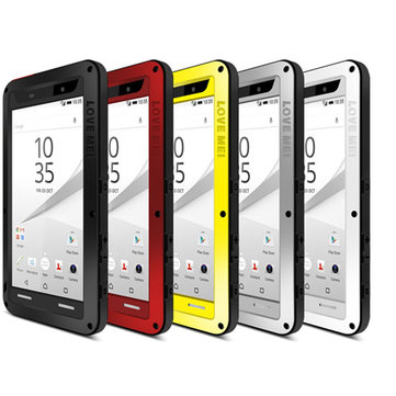Love Mei Anti-dust Shockproof Hybrid Hard Cover Case For Sony Xperia Z5 Premium 5.5 Inch