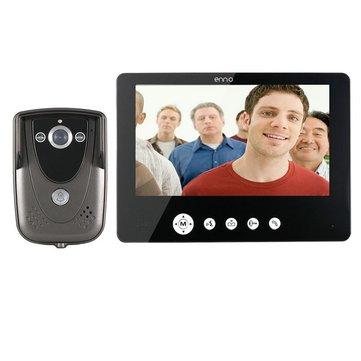 SY905FC11 فيديو باب الهاتف الجرس إنترفون كيت 900tvl إر للرؤية الليلية كاميرا 9 بوصة تفت شاشة رصد