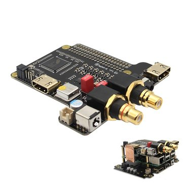 X4000 Expansion Board HIFI Audio Mini PC for Raspberry Pi 3 Model B / 2B / B+