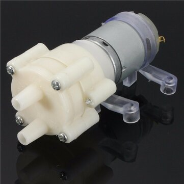 DC6-12V R385 Aquarium Fish Tank Round Water Air DC Diaphragm Pump