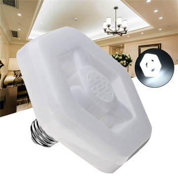 E27 28W SMD2835 Pure White LED Light Bulb Lamp for Home House Decoration AC180-260V