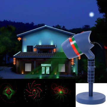 garden landscape led laser star light projector christmas red green motion twinkle decoration lamp - Christmas Decoration Projector