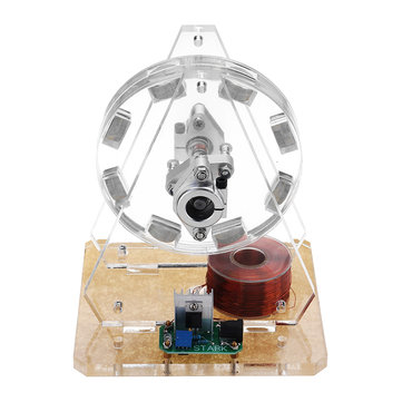 STARK-35 Bedini Motor Brushless Motor Model Pseudo Perpetual Motion Disc Motor Toy