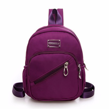 Women Multifunctional Nylon Waterproof Casual Backpack Travel Sport Crossbody Bag