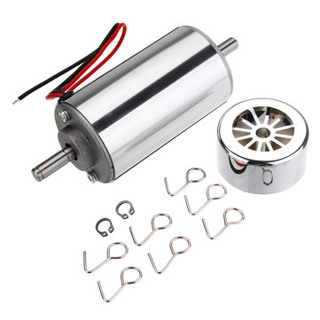 300W 12-48V 12000rpm High Torque DC Spindle Motor Air-Cooled Motor