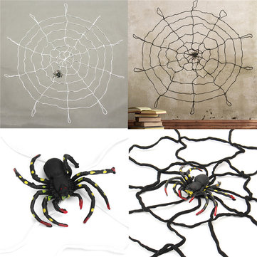 Halloween Party Décoration intérieure Large Spider Web Honor Props Toys For Kids Children Gift