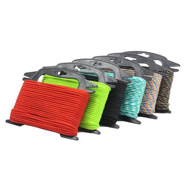 IPRee® Outdoor Paracord Storage Reel Bobbin Bracket Winder Rope Organizer For Camping Hiking