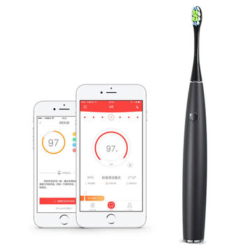 US$62.89 XIAOMI Oclean One Rechargeable Automatic Sonic Electrical Toothbrush APP Control Intelligent Dental Health Care Sonic Toothbrush Bathroom from Home and Garden on banggood.com