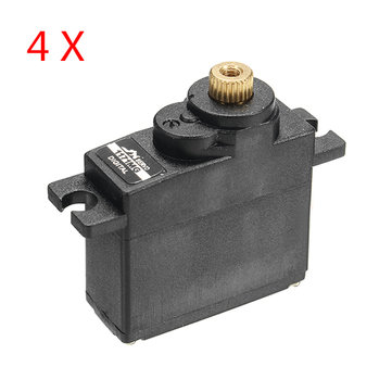 4 PCS JX PDI-1171MG 17g Metal Gear Core Motor Micro Digital Servo for RC Models