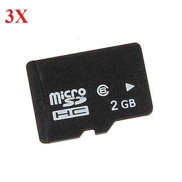 3X 2GB Micro Sd TF Memory Card For RC Quadcopterr Camera