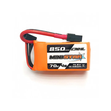 CNHL MiniStar 850mAh 14.8V 4S 70C Lipo battery XT60 Plug for RC Drone FPV Racing
