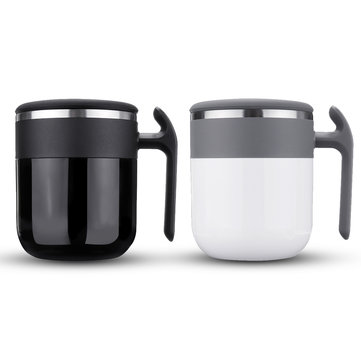 300ml Automatic Self Stirring Coffee Cup Water Drinking Bottle Stainless Steel Electric Mixing Mug