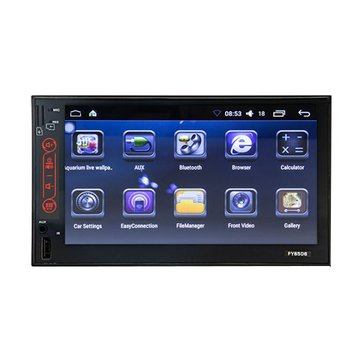 7 Inch LCD 2 Din Car Radio Stereo MP5 Player Android 6.0 Bluetooth WiFi OBD BT 3G