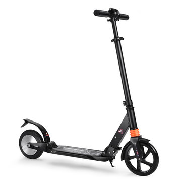 ALFAS 150W 15Km/h Portable Electric Scooter Adults Kids Adjustable Foldable E-scooter