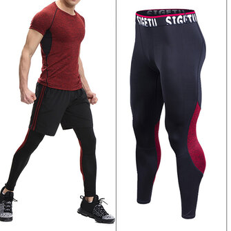 PRO Sports Compression Speed ​​Dry Tight Pantalons High Stretch Running Fitness Pants