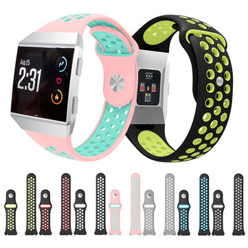 KALOAD Silicone Smart Watch Band Sports Skin-friendly Bracelet Strap Belt Breathable For Fitbit Ionic