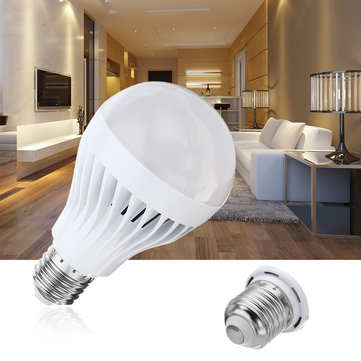 E27 5W 7W 2835 SMD Not-dimmable White Radar Motion Sensor LED Globe Light Bulb AC90-265V