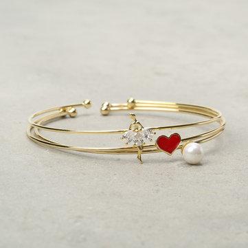 Original JASSY® 3 piezas / Set brazaletes de mujer