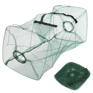 Foldable Fishing Bait Trap Cast Dip Net Cage Crab Fish Minnow Crawdad Shrimp