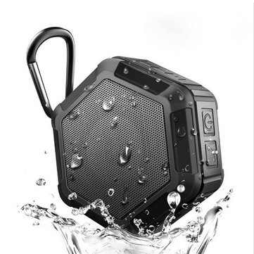 YS Portable Wireless Bluetooth Speaker IP67 Waterproof Handsfree Shockproof Subwoofer Speaker
