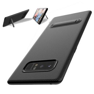 FLOVEMEМеталлическийдержательУглеродноеволокноSoft TPU Защитный Чехол для Samsung GalaxyNote8