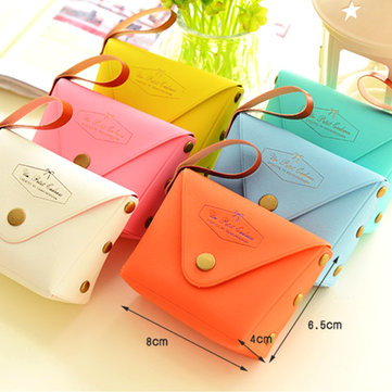 Korea's Version Of Cute Candy Color Small Coin Purse Coins Bag Key Bag