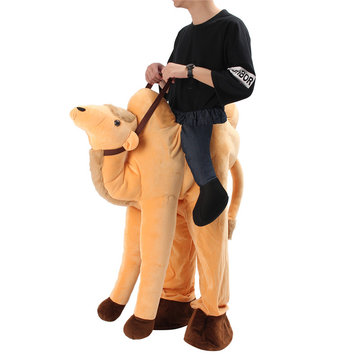 Ride On Mascot Costume Cosplay Animals Party Fancy Dress Adult Pant Halloween Toy