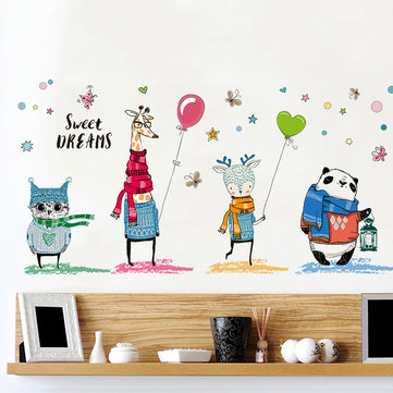 Cartoon Car Wall Stickers Children Boys Room Kindergarten School Decorative Wall Stickers 45*30CM