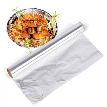 Tinfoil Thickened Unleaded Barbecue Foil Aluminum Foil Grilled Fish Chicken Wings Tin Foil 10 Meters