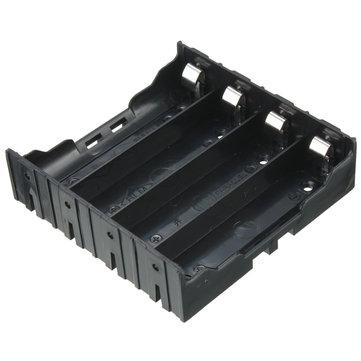 DIYストレージボックスホルダーケース、4 x 18650充電式バッテリー