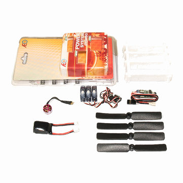C05 Micro Power System Combos Including Propeller Motor ESC Servo Battery
