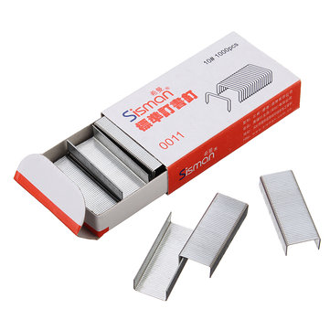 1000Pcs NO.10 Standard Staple for Stapler Office School