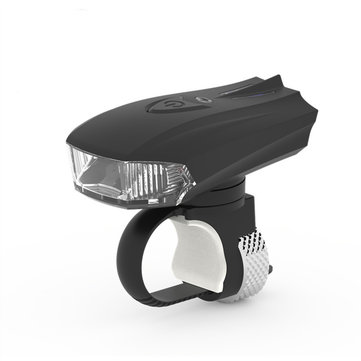 Machfally German Standard Smart Sensor Bike Light Shock Sensor LED Front Lamp USB Charging Night Riding