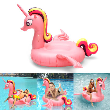 Large Inflatable Unicorn Water Float Toy Beach Swimming Mat For Kids Adults