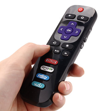 Replacement TV Remote Control for TCL RC280 with ROKU Netflix Amazon Rdio Vudu Buttons 06IRPT20A
