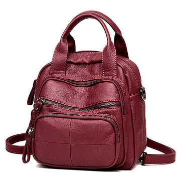 Women Multifunction Bags Leisure Shoulder Bags Large Capacity Backpacks