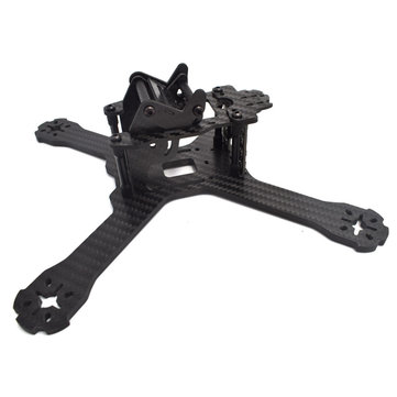 Realacc X210 V+ 214mm 6K Carbon Fiber FPV Racing Frame 4mm Frame Arm w/ LED Board 5V & 12V PDB