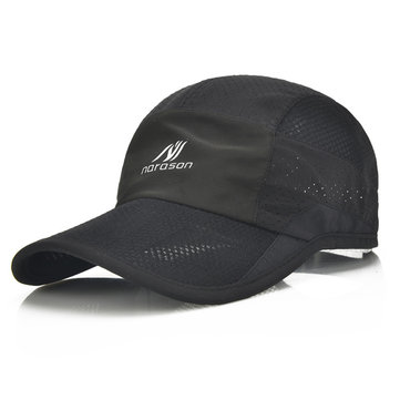 Men Ultra-thin Quick-drying Anti-UV Baseball Cap Outdoor Casual Breathable Carved Net Hat