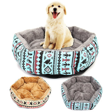 34cm Pet Cat Puppy Small Dog Bed Soft Cushion Warm Kennel Dog Mat Pad Blanket